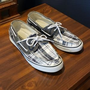 Sperry Top-Sider plaid size 8M
